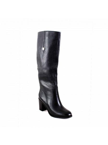 Сапоги женские демисезонные на среднем каблуке