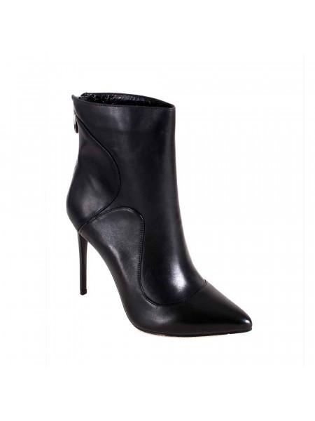 Ботинки женские демисезонные на высоком каблуке
