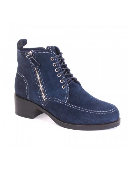 Ботинки женские зимние на среднем каблуке