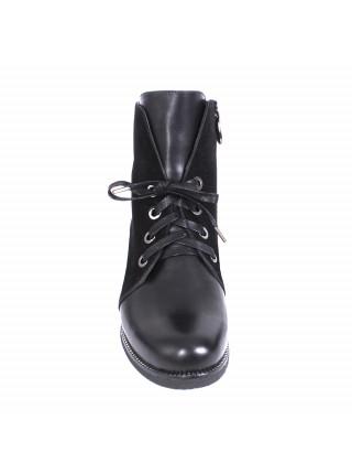Ботинки женские зимние на низком каблуке