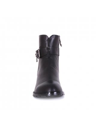 Ботинки женские демисезонные на низком каблуке