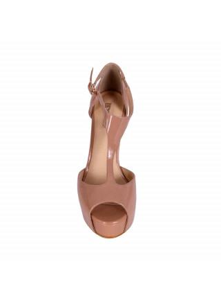 Босоножки женские на высоком каблуке