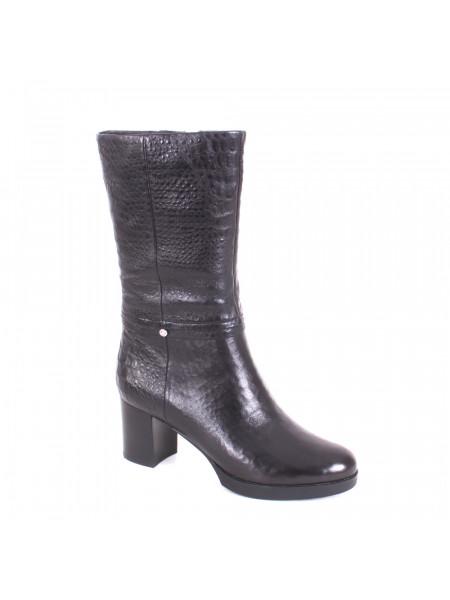 Ботинки женские демисезонные на среднем каблуке